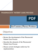 Patient Care Process Template Presentation-Final