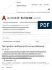 vmbols and Special Characters Reference _ AutoCAD