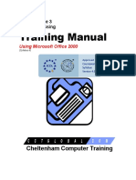 Ecdl v4 Mod3 Office-2000 Manual