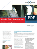 Credit Card for SAP Business One