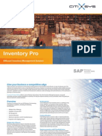 Inventory Pro From Sap Business One