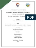 Informe Vinculacion Frutas y Hortalizas