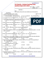 10th Maths Centum Coaching Team Question Paper Em