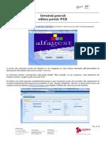 Guida Utilizzo Portale Fornitori Rev.28!04!16