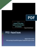 FPSO Hazard Issues