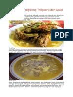 Perbedaan Tengkleng Tongseng Dan Gulai [Cronyos.com]