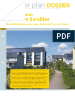 PUCA quartiers durables