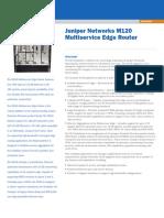 Juniper M120 Multiservice Edge Router