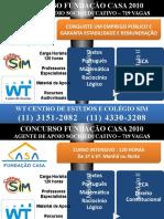 Agente Socioeducativo Fundação Casa 2010