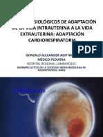 CAMBIOS FISIOLÓGICOS DE ADAPTACIÓN DE LA VIDA INTRAUTERINA A LA VIDA EXTRAUTERINA_AGIP2018.ppt