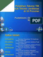Pelatihan Teknisi TIK 2008