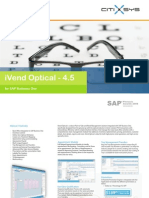 iVend Optical for SAP Business One