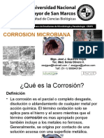 Corrosion Microbiana - Power point