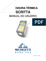SCRITTA - Manual Do Usuário - R1.00