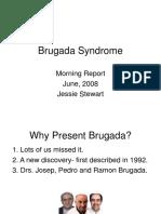 6.25.08 Stewart.  Brugada syndrome.ppt
