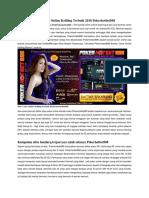Situs Ceme Online Keliling Terbaik 2018 Pokerhotbet888