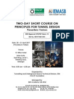 Principles for Tunnel Design