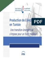 Production Electricité STEG