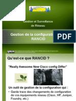 Config Management Rancid VFR