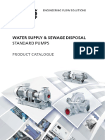 81E Water Supply Sewage Disposal