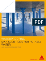 Sika Solutions for Portable Water