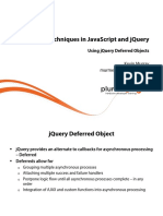 4 Javascript Jquery Advanced Techniques m4 Slides