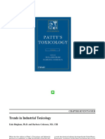 Toxicology Patty 6ed 2012 [Industrial Hygiene]