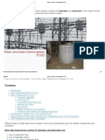 Power Line Carrier Communication (PLCC)