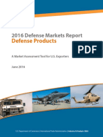 Defense Top Markets Report