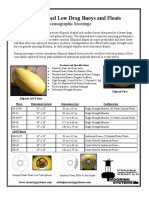 Data Sheet Low Drag Ellipsoid Buoy 16 Rev 4