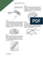 2.7 Movimiento Curvilineo - Comp. Radial y Transversal - Problemas
