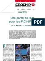 Cours de Program Mat Ion - Chap 01 - Carte de Test PIC16F876