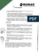 Informe N° 109-2010-SUNAT2B0000 Inscripción en el RUC
