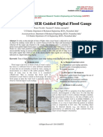 Design of LASER Guided Digital Flood Gauge