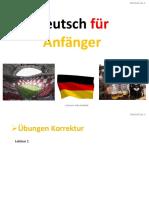Deutsch A1.1 - Lektion 2.1