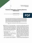 Vibration Diagnostic of Machinery Rotating