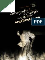 Cartografía del cuerpo en un espacio arquitectónico