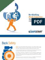 SafeStart Back Injuries Guide