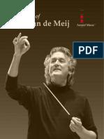 Johan de Meij BMS 2016
