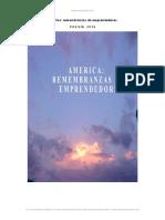 America Remembranzas Emprendedores Poesia