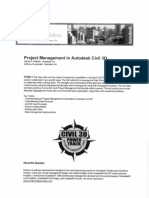 CV42 1 Project Management in Autodesk Civil 3d