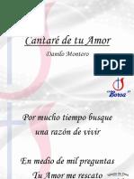 Cantare de Tu Amor - Danilo Montero