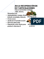 1- Dieta Articulaciones