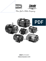 Electric Motor Leeson Catalog