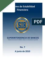 Informe de Estabilidad Financiera No 7