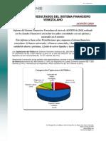 Softline Consultores Informe Sistema Financiero Venezolano Agosto 2010