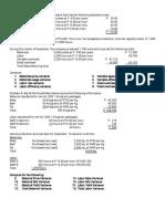 Std Costing Drills(1)