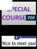 1b Special Course