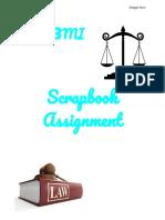 scrapbook assignment