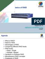 Basics of RAID